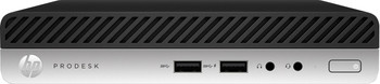 HP ProDesk 400 G5 Mini - Intel i3 - 3.10GHz, 4GB RAM, 500GB HDD, Windows 10 Pro, 7FV11UT