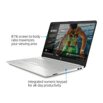 """HP 15-DW2638CL Laptop - Intel Core i3, 4GB RAM, 256GB SSD, 15.6"""" Display"""