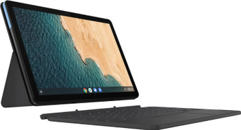 "Lenovo Convertible Chromebook Duet - Mediatek Helio, 4GB RAM, 128GB eMMC, 10.1"" Touchscreen"