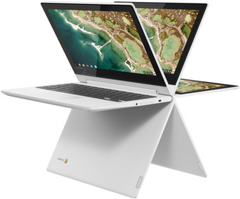 "Lenovo Chromebook C330 2-in-1 - Mediatek 1.70GHz, 4GB RAM, 64GB eMMC, 11.6"" Touchscreen, Blizzard White"