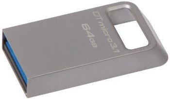 Kingston 64gb Dtmicro Usb 3.1/3.0 Type-a Flash