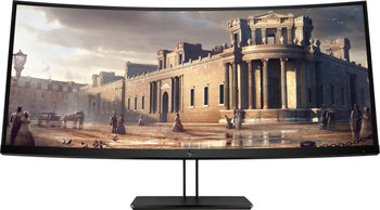 "HP Z38c Curved - 37.5"" 3840 x 1600 pixels Ultra-Wide Quad HD+ LED Black Computer Monitor"