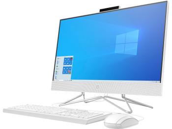 """HP 24-dd0010 - 23.8"""" AIO PC - AMD Athlon 3050U, 8GB RAM, 256GB SSD, White"""