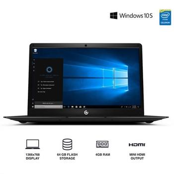 """Core Innovations 14.1"""" Laptop - 4GB RAM, 64GB SSD, Windows S Mode, Black"""