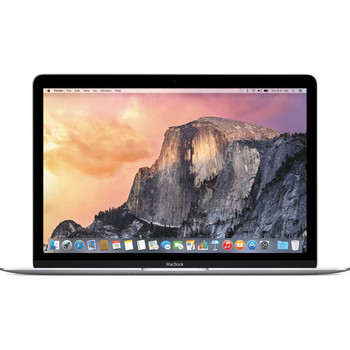 "Apple Macbook - 12"" Display, Intel Core M-5Y31, 8GB RAM, 240GB SSD, Silver - MF855LL/A"