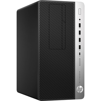 HP EliteDesk 705 G4 Tower - AMD A6 - 3.50GHz, 4GB RAM, 500GB HDD, Windows 10 Pro