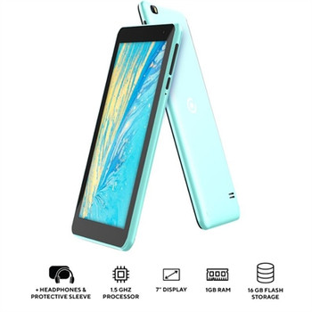 "The Core Innovations 7"" QuadCore Android Tablet Teal"