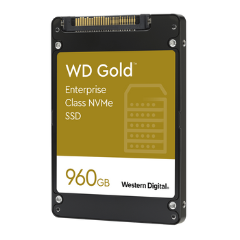 WD Gold NVMe SSD 960GB 2.5 - WDS960G1D0DSP