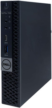 Dell Optiplex 7060 MFF - Intel i5, 16GB RAM, 500GB HDD, Windows 10 Pro