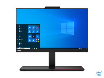 "Lenovo ThinkCentre M70a - 21.5"" AIO PC,  Intel i5 10400, 8GB RAM, 256GB SSD, Windows 10 Pro - 11CK002YUS"