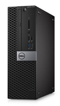 Dell Optiplex 5050 SFF Business PC - Intel i5 - 3.40GHz, 16GB RAM, 256GB SSD, Windows 10 Pro