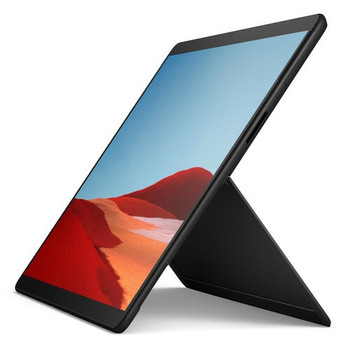 "Microsoft Surface Pro X Tablet | SQ1 1.80GHz, 8GB RAM, 256GB SSD, 13"" Touchscreen, Windows 10, Black"