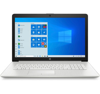 """HP Notebook - 17-by2006ds - Intel Pentium, 8GB RAM, 512GB, 17.3"""" Touch-Screen, Silver, Windows 10"""