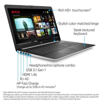 "HP Notebook - 17-by2075cl - Intel i5, 12GB RAM, 1TB HDD, 17.3"" Display, Windows 10"