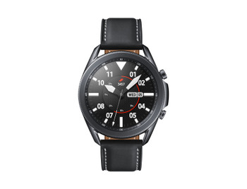 SAMSUNG Galaxy Watch3 (45MM), Mystic Black - SM-R840NZKAXAR