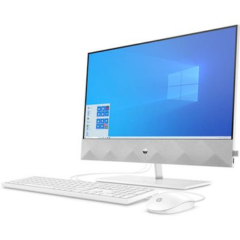 "HP Pavilion All-in-One 24-k0220z - 23.8"" Touchscreen, Ryzen 5 - 4.00GHz, 16GB RAM, 256GB SSD, 1TB HDD, White"
