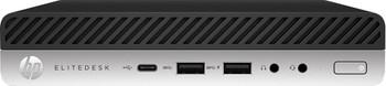 HP EliteDesk 800 G5 Mini Desktop - Intel i5, 8GB RAM, 256GB SSD, Windows 10 Pro - 1W3L6US