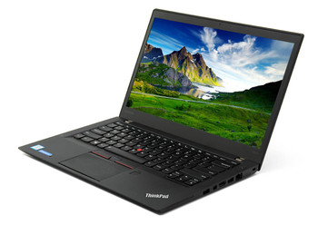 "Lenovo Thinkpad T460s Notebook - Intel i5 - 2.40GHz, 8GB RAM, 256GB SSD, 14"" Display, Windows 10 Pro"