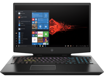 "HP OMEN 17-cb1055cl - Intel i7, 16GB RAM, 512GB SSD + 1TB HDD, GeForce RTX 2070 8GB, 17.3"" Display, Windows 10"