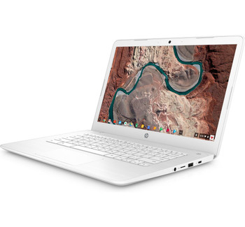 "HP Chromebook 14 - Intel Celeron, 4GB RAM, 32GB SSD, 14"" Display, Snow White"