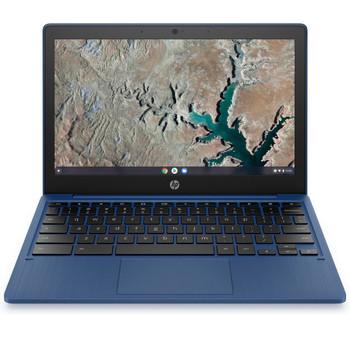 """HP Chromebook 11a 11a-na0030nr -11.6"""" Display, MT8183 2.00GHz, 4GB RAM, 32GB eMMC, Blue"""
