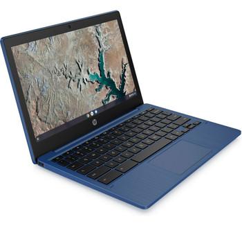 """HP Chromebook 11a-na0030nr -11.6"""" Display, MT8183 2.00GHz, 4GB RAM, 32GB eMMC, Blue"""