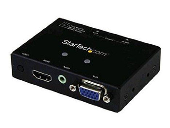 Startech Share A Vga Monitor/projector Between A Vga And Hdmi Audio/video Source, With Pr