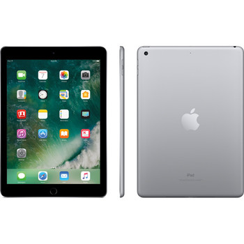 "Apple Ipad 5th Gen WiFi - 9.7"" Touch-Screen, 1.85GHz, 2GB RAM, 128GB SSD, Space Gray"