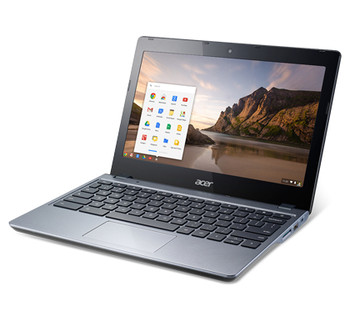 "Acer Chromebook C720-2844 - 11.6"" Display, Intel Celeron, 4GB RAM, 16GB SSD"