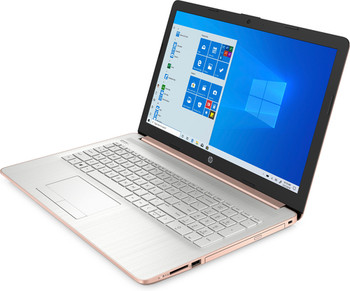 "HP Laptop 15-da0020ds - 15.6"" Touch-Screen, Intel Pentium, 8GB RAM, 256GB SSD, Windows 10, Rose"