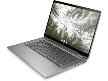 """HP Chromebook x360 14c-ca0030ca – 14"""" Touch, Intel i3, 8GB RAM, 128GB SSD, Mineral Silver"""