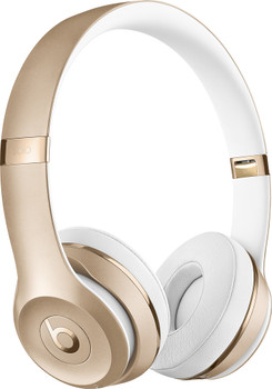 Beats Solo3 Wireless Headphones by Dr. Dre, Gold - MNER2LL/A