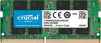 Crucial 16GB DDR4 2666MT SODIMM Memory Module - CT16G4S266M