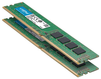 Crucial 16GB (Kit of 2) DDR4 2666 UDIMM Memory Modules - CT2K8G4DFRA266