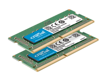 Crucial 64GB Kit of 2 DDR4-2666 SODIMM Memory Modules - CT2K32G4S266M