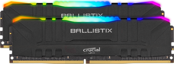 Crucial Ballixtix RGB 2x 8GB (16GB Kit) DDR4 3200 Memory Modules - BL2K8G32C16U4BL