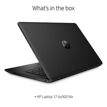 "HP Laptop 17-by3021dx - 17.3"" Display, Intel i3, 8GB RAM, 1TB HDD, Windows 10 S Mode"