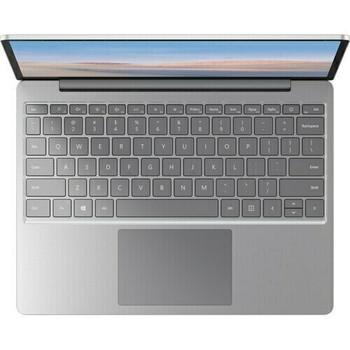 "Microsoft Surface Laptop Go 12.4"" Touch Screen Intel i5 4GB RAM 64GB SSD Windows 10 S Mode Platinum"