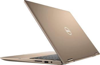 "Dell Inspiron 14-7405 2-In-1 Notebook – AMD Ryzen 5-4500U, 8GB RAM, 256GB SSD, 14"" Touchscreen, Windows 10 Pro, Sandstorm"