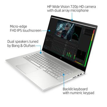 "HP ENVY Laptop 17m-cg1013dx - 17.3"" Touchscreen, Intel i7, 12GB RAM, 512GB SSD, Windows 10"