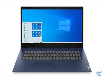 """Lenovo IdeaPad 3 - 17.3"""" Display, Intel i7, 8GB RAM, 256GB SSD, Abyss Blue"""