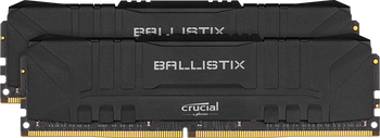 Crucial Ballistix 64GB DDR4 3600 (Kit of 2) Memory Modules, Black - BL2K32G36C16U4B