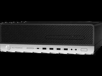 HP EliteDesk 800 G4 SFF - Intel Core i5-8500, 8GB RAM, 512GB SSD, Windows 10 Pro 64 - 4DP08UT