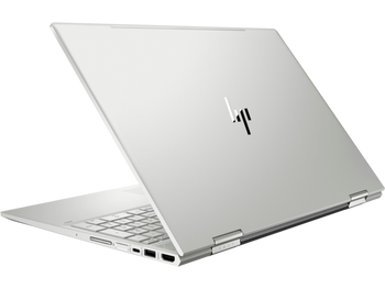 """HP ENVY x360 15t-dr100 Notebook - 15.6"""" Touch, Intel i7, 8GB RAM, 512GB SSD, Windows 10, Natural Silver"""