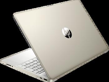 """HP 15z-ef100 Notebook - 15.6"""" Display, AMD Athlon 3150U, 8GB RAM, 128GB SSD, Windows 10, Pale Gold"""