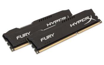 Kingston 16gb 1600mhz Hyperx Fury Black Series (kit Of 2)