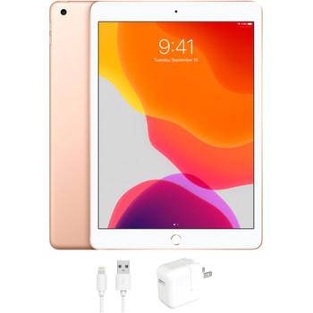 """Apple iPad 7 - 10.2"""" Tablet, 128GB, Gold - MW792LL/A"""