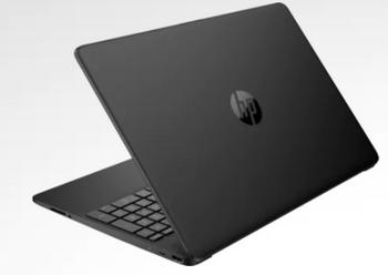 "HP 15z-ef100 Notebook - 15.6"" Display, AMD 3150U, 8GB RAM, 128GB SSD, Windows 10, Black"
