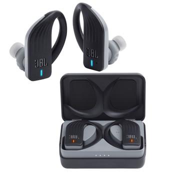 JBL Endurance Peak True Wireless In-Ear Headphones, Black