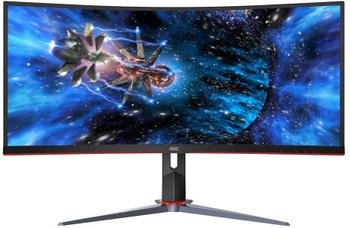 AOC 34in Curved UltraWide QHD 3440x1440 Gaming Display - CU34G2X